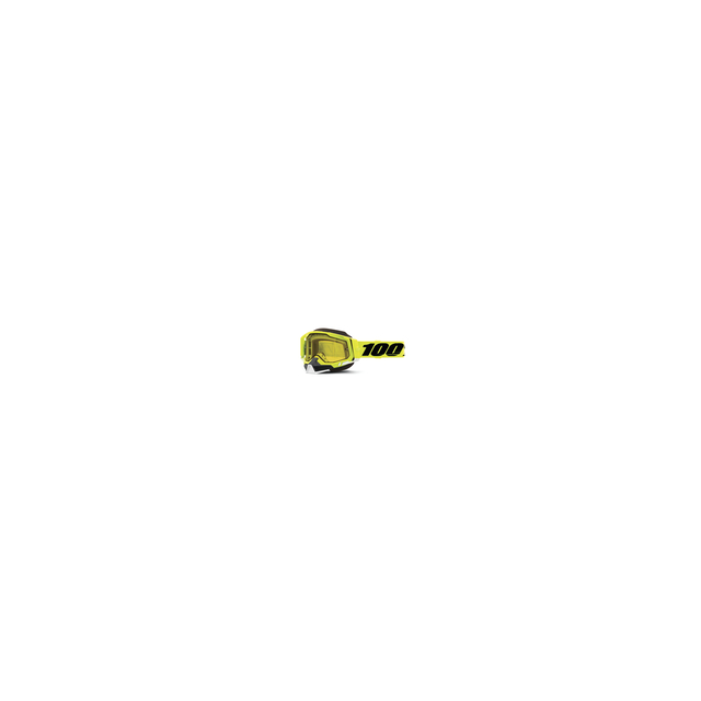 100percent Brand - Racecraft 2 Snowmobile Goggle Fluo Yellow - Yellow Lens