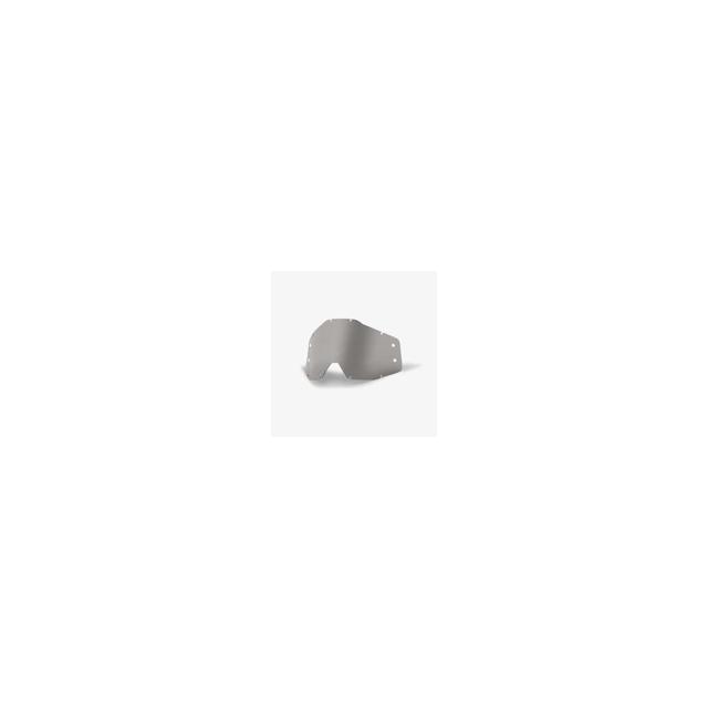 100percent Brand - Rc1/Ac1/St1 Forecast Replacement Lens W/Mud Visor Smoke