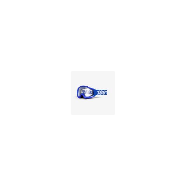 100percent Brand - Accuri Enduro Mtb Goggle Reflex Blue Clear Vented Dual Lens