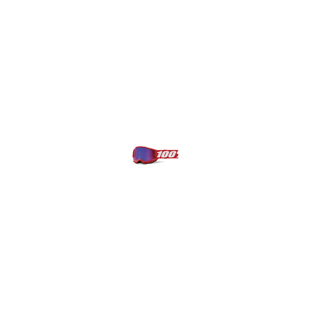 100percent Brand - Accuri 2 Youth Goggle Red - Mirror Red/Blue Lens