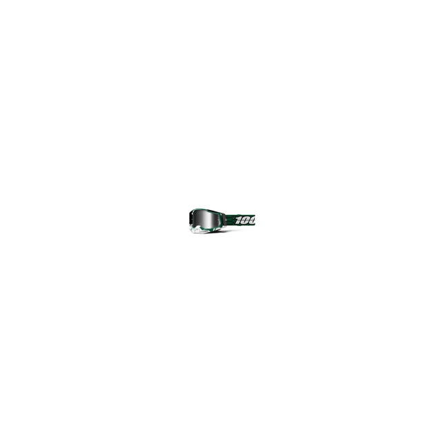 100percent Brand - Racecraft 2 Goggle Milori - Mirror Silver Lens
