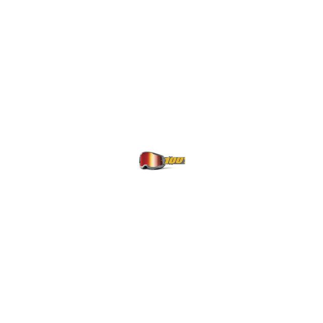 100percent Brand - Strata 2 Goggle Izipizi - Mirror Red Lens