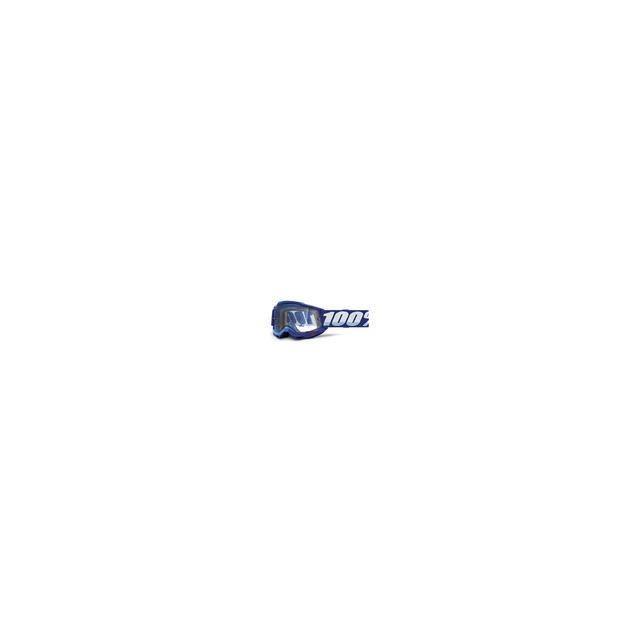 100percent Brand - Accuri 2 Enduro Moto Goggle Blue - Clear Dual Lens