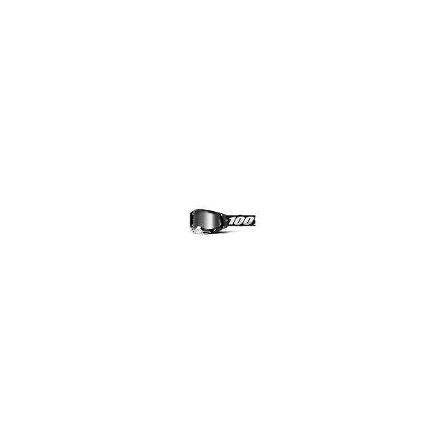 100percent Brand - Racecraft 2 Goggle Black - Mirror Silver Lens