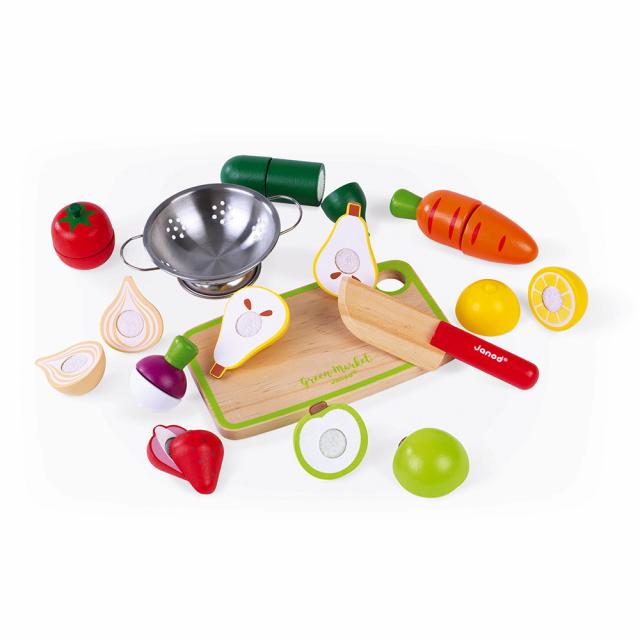 Janod - Fruits & Vegetable Maxi Set
