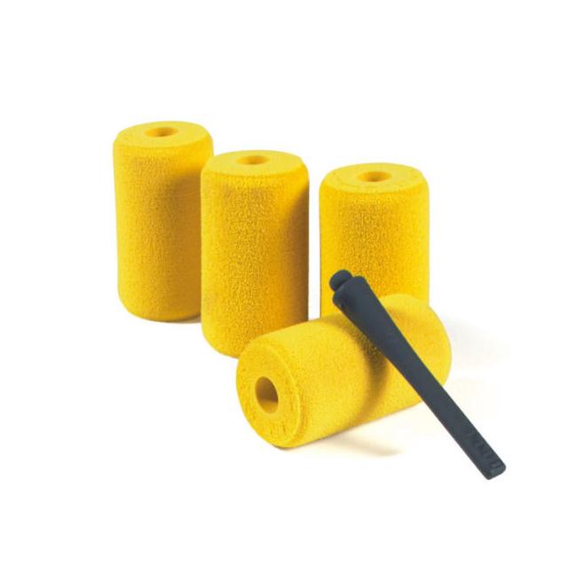 """Croakies - Float Kit 4Pk Yellow 1.5"""""""