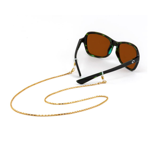 Croakies - Fashion Chain Gold Siena Spec End