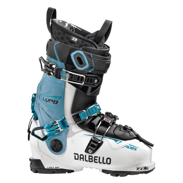 Dalbello - Lupo Ax 105 W Ls White/Blue Cyan