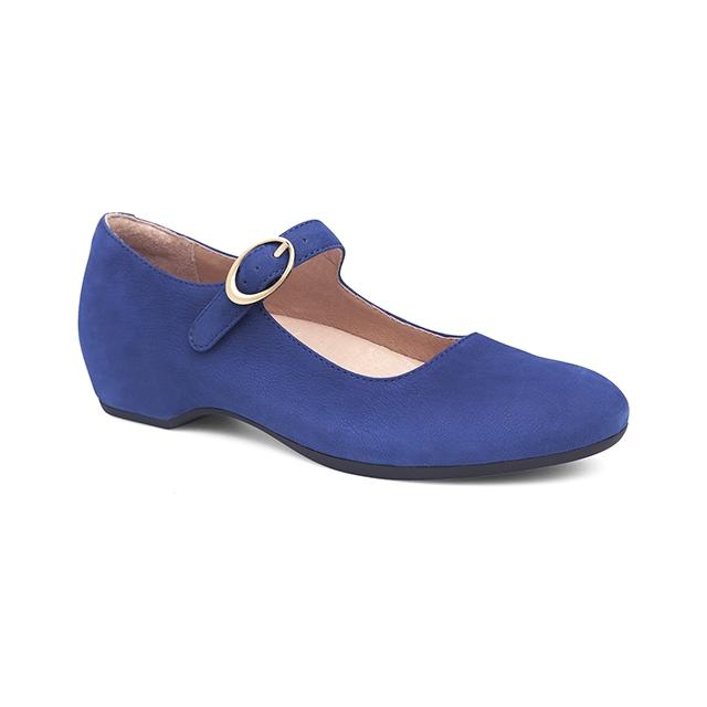 Dansko - Linette Blue Milled Nubuck