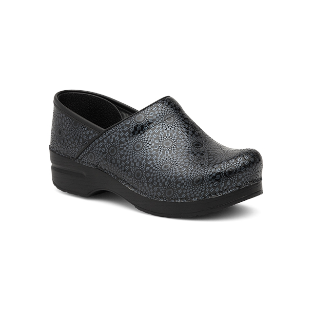 Dansko - Women's Wide Pro XP Black Medallion Patent