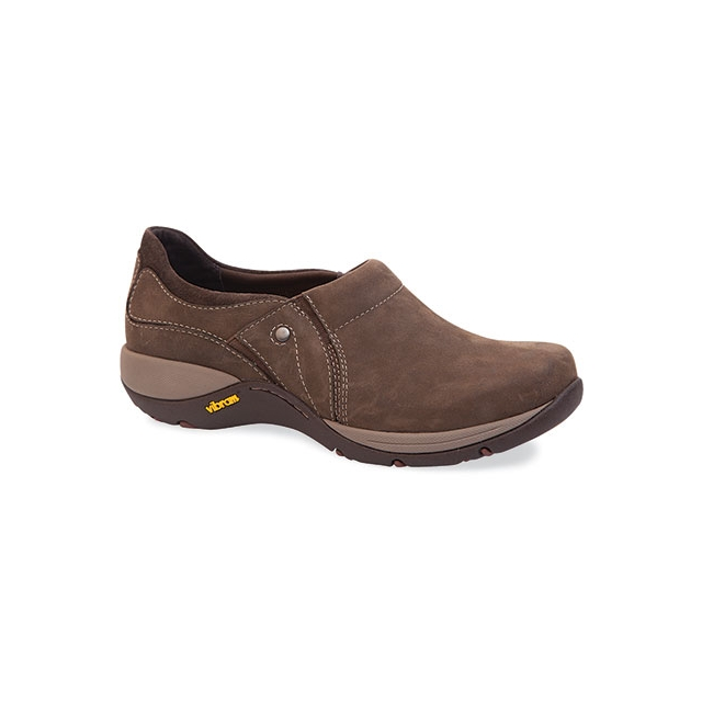 Dansko - Women's Celeste Brown Milled Nubuck