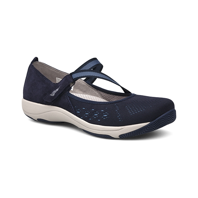 Dansko - Women's Haven Navy Suede