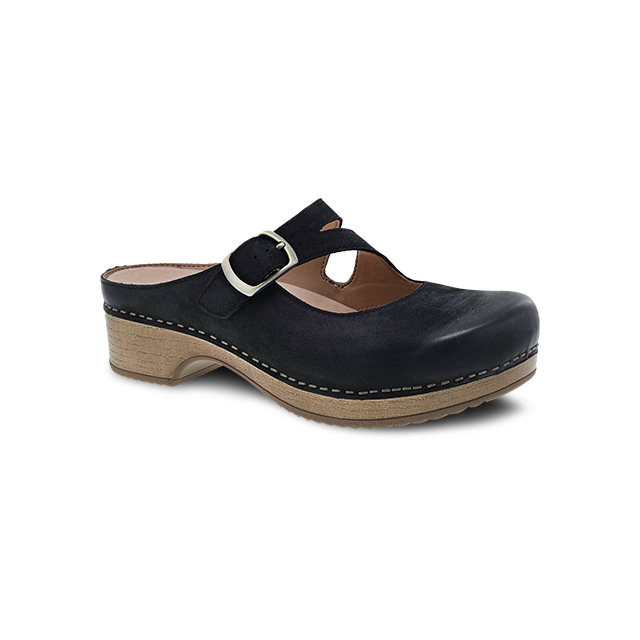 Dansko - Britney Black Burnished Nubuck in St Joseph MO