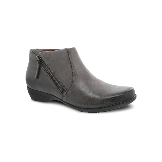 Dansko - Fifi Grey Burnished Nubuck