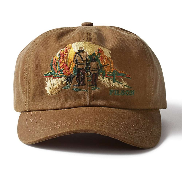 Filson Embroidered Tin Cloth Upland Cap