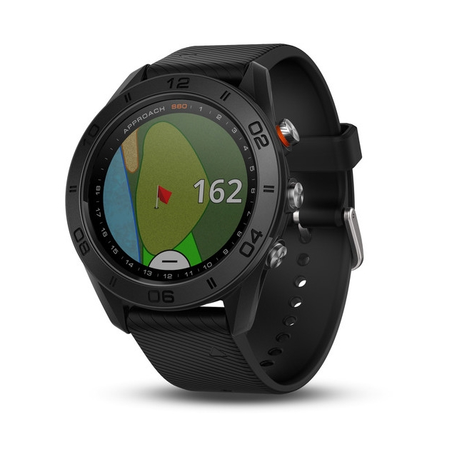 Garmin - Approach S60, Black with Black Band in Aurora CO