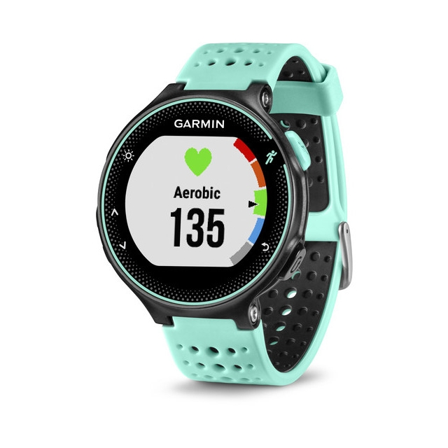Garmin - Garmin Forerunner 235, Frost Blue Silicone in Colorado Springs CO