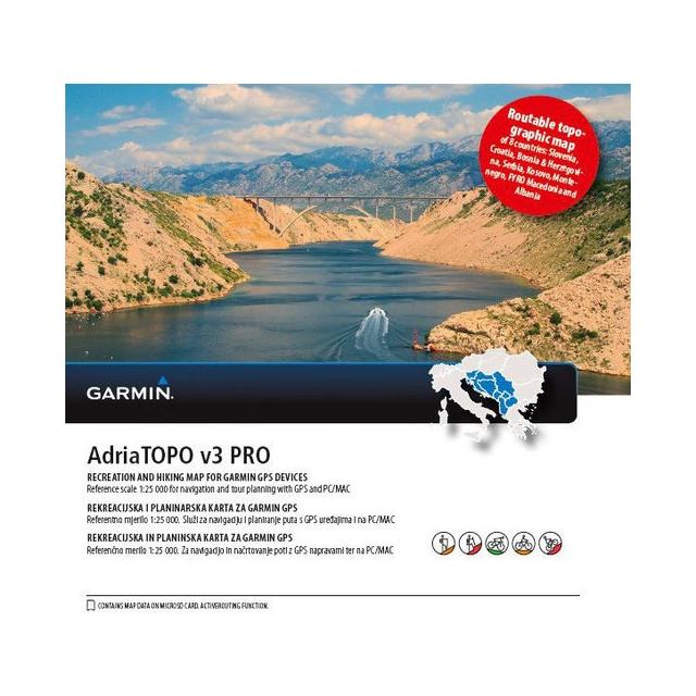 Garmin / Garmin microSD™/SD™ card: AdriaTOPO v3 PRO