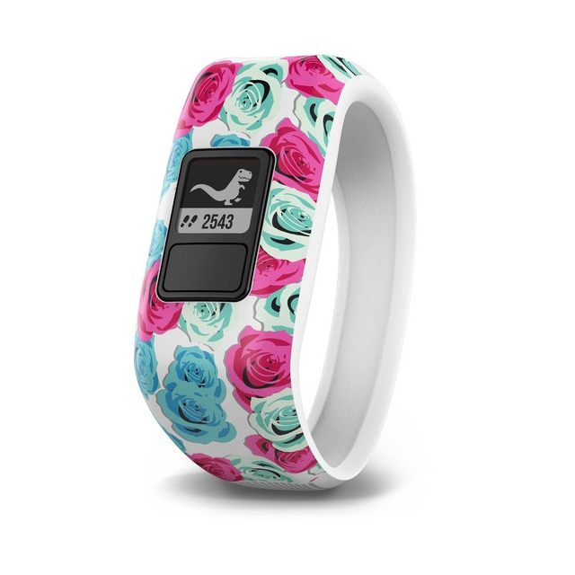 Garmin - Garmin vívofit® jr., Real Flower in New Bern NC