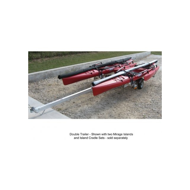 Hobie - Trailer Alum Kayak Double Doub