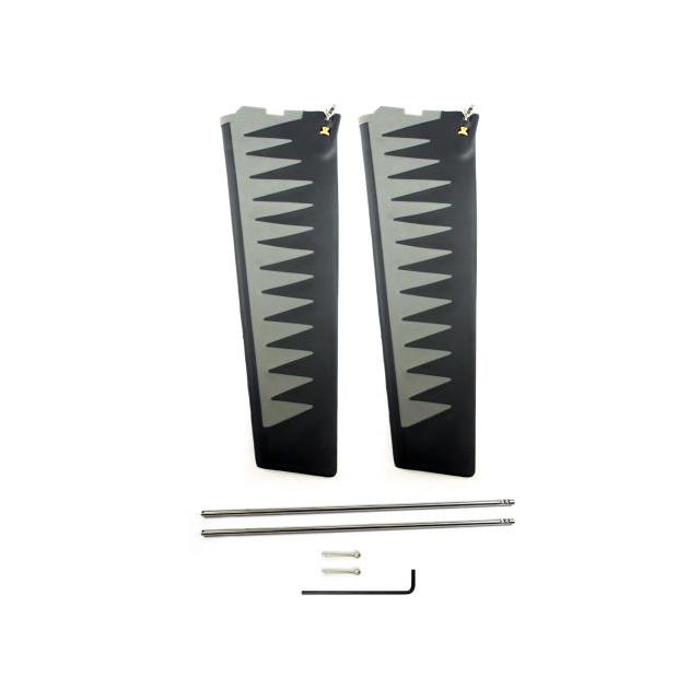 Hobie - St-Turbo Fin Kit - Gray/Black