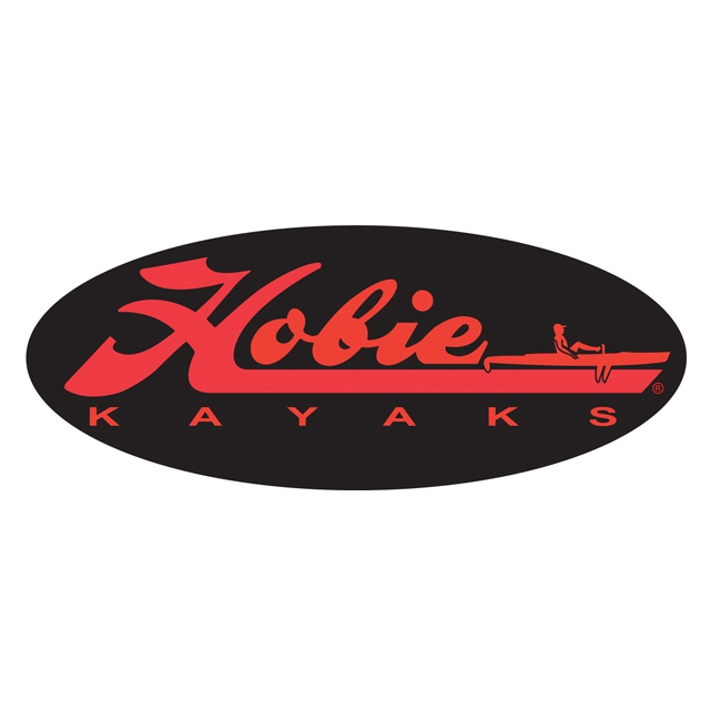 "Hobie - Decal, 12""  Fishing Black"