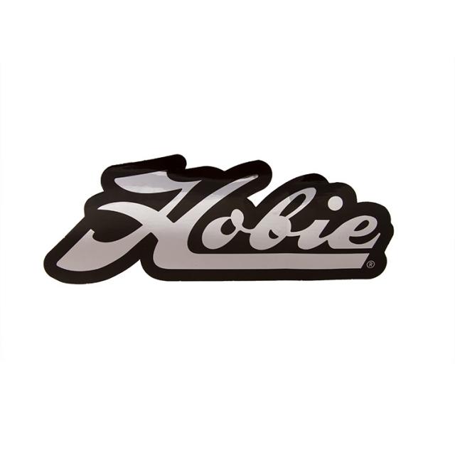 Hobie - Decal,  Script Chrome/Blk