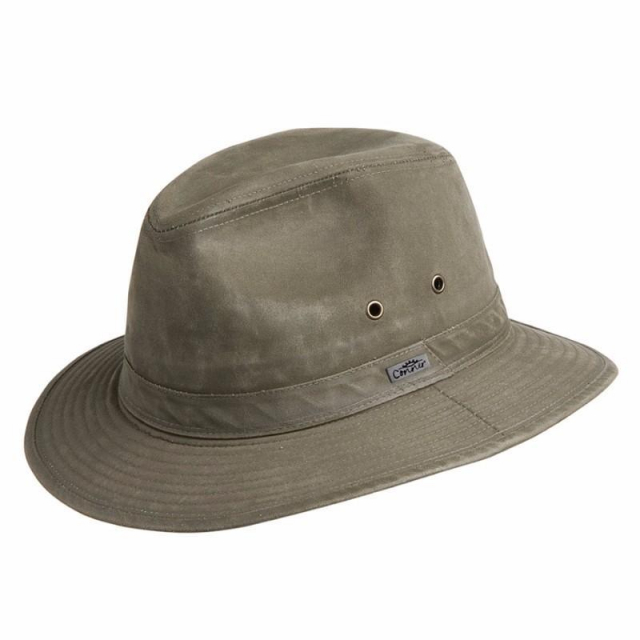 Conner Hats - Indy Jones Mens Water Resistant Cotton Hat