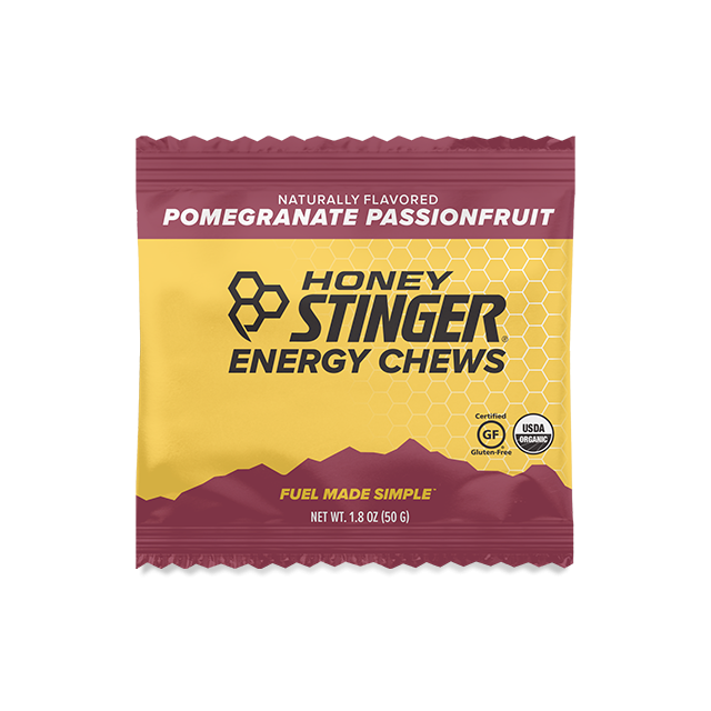 Honey Stinger - Energy Chews - 1.8 oz Bag Box of 12- Pomegranate Passionfruit in Colorado Springs CO