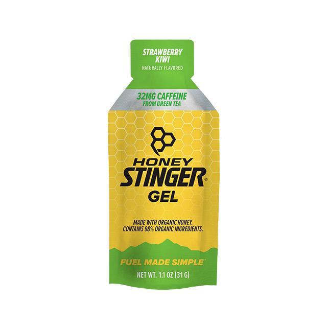 Honey Stinger - Organic Energy Gels - 1 oz Pack Box of 24 - Strawberry Kiwi Caffeinated in Alamosa CO