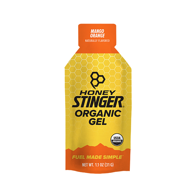 Honey Stinger - Organic Energy Gels - 1 oz Pack Box of 24 - Mango Orange in Alamosa CO