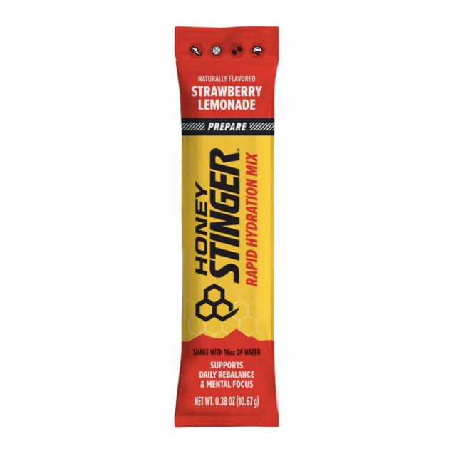 Honey Stinger - Rapid Hydration Prepare - Strawberry Lemonade