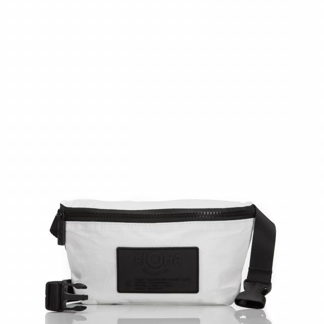ALOHA Collection - White Mini Hip Pack