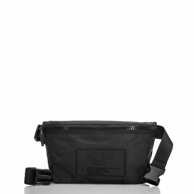 ALOHA Collection - Black Mini Hip Pack