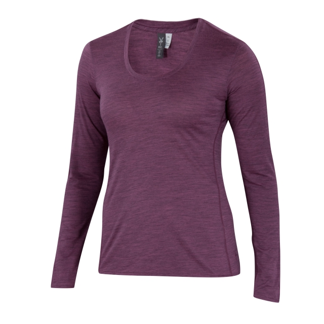 Ibex - Women's OD Heather Crew