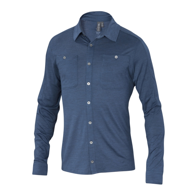 Ibex - Men's OD Heather Shirt