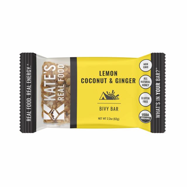 Katie's Real Food - Single Bar | Lemon Coconut & Ginger