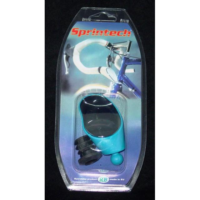 Sprintech - Road Drop Bar Rearview Mirror Blue. 1/Single For Left Side.