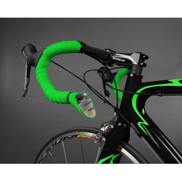 Sprintech - Road Drop Bar Rearview Mirror Green.1/Single For Left Side