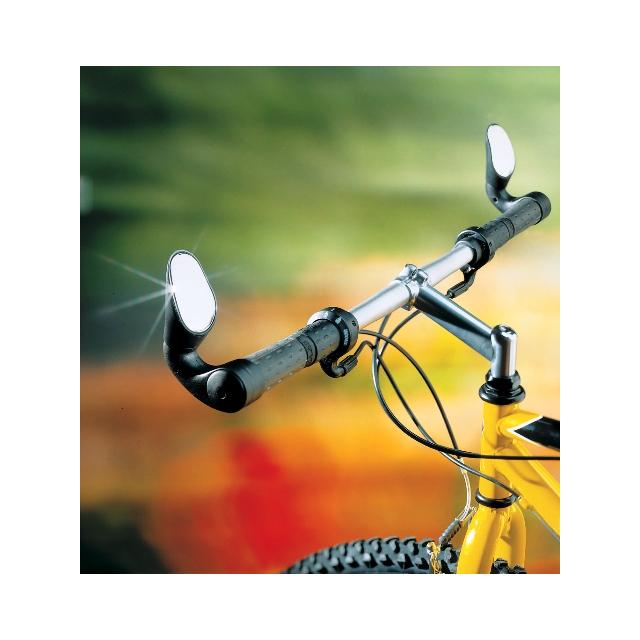 Sprintech - Citytech MTB Upright Bar Rearview Mirror Black 1/pair
