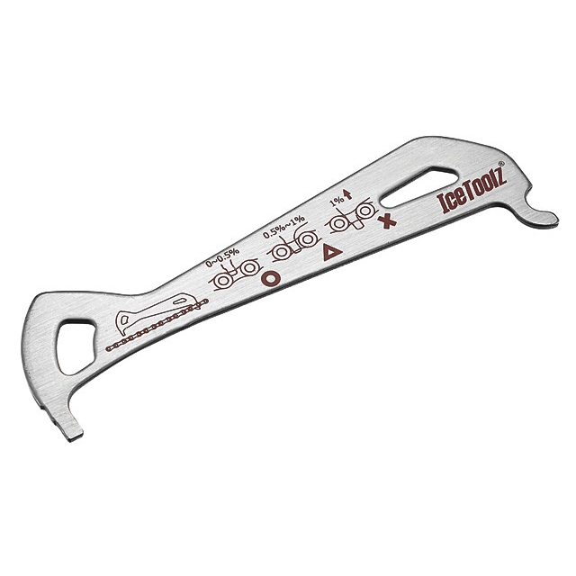 Icetoolz - Chain Checker Go/No Go Stainless Steel