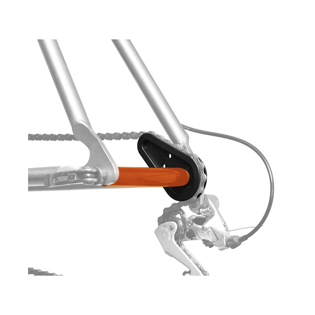Icetoolz - ChainMaster for chain stay/dropout/derailleur protection during transport.