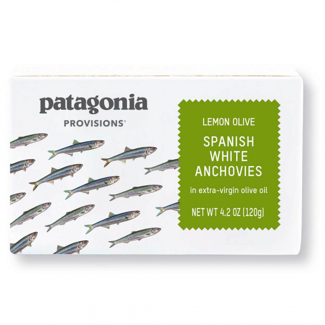 Patagonia Provisions - Lemon Olive White Anchovies 4.2 oz