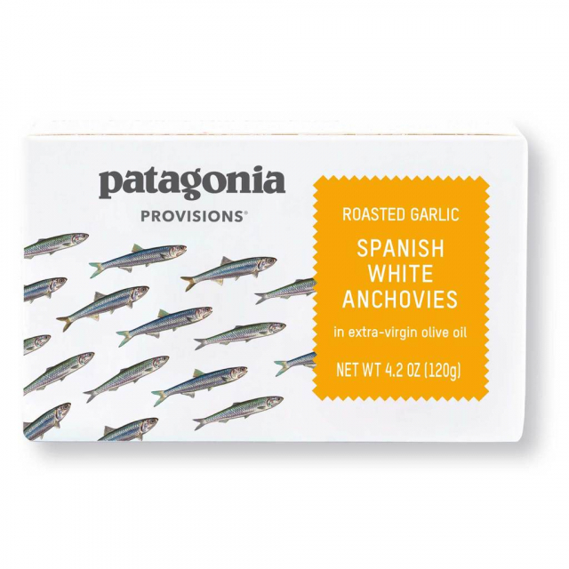 Patagonia Provisions - Roasted Olive White Anchovies 4.2 oz