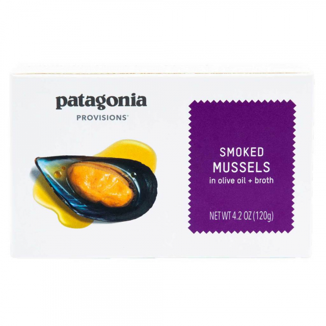 Patagonia Provisions - Smoked Mussels 4.2 oz in Golden CO