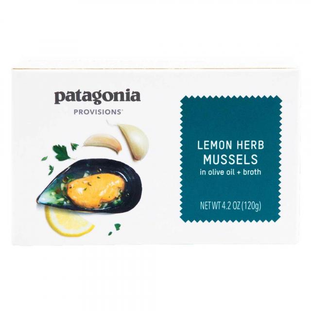 Patagonia Provisions - Lemon Herb Mussels 4.2 oz