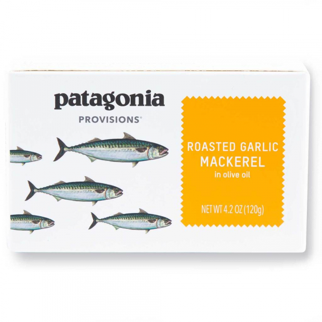 Patagonia Provisions - Roasted Garlic Mackerel 4.2 oz