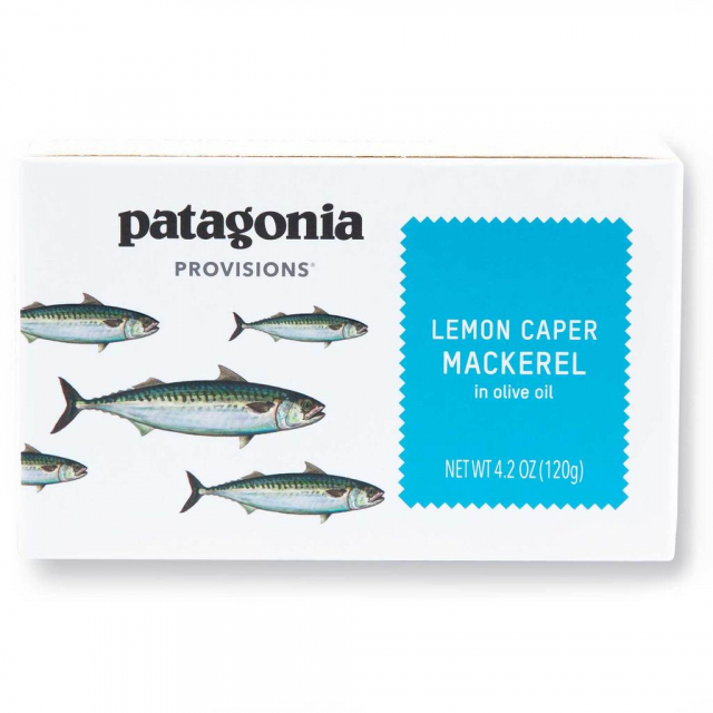 Patagonia Provisions - Lemon Caper Mackerel 4.2 oz