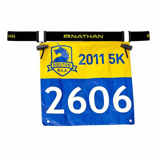Nathan - Race Number Belt 2.0 in Squamish BC