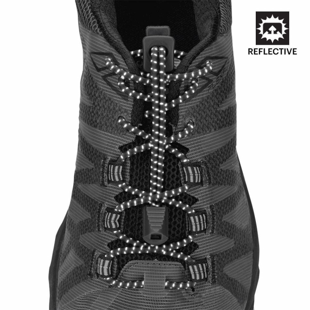 Nathan - Reflective Run Laces in Gaithersburg MD